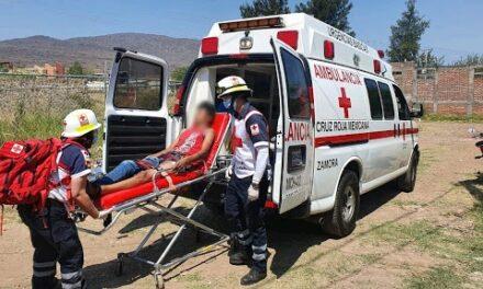 Un hombre se disparó con su propia arma en Ahuehuetitla