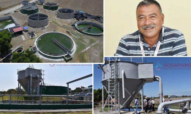 SOSAPAMIM da mantenimiento a planta tratadora de aguas residuales