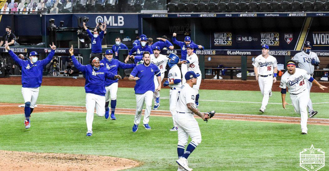 32 años después los Dodgers campeones de la serie mundial 2020