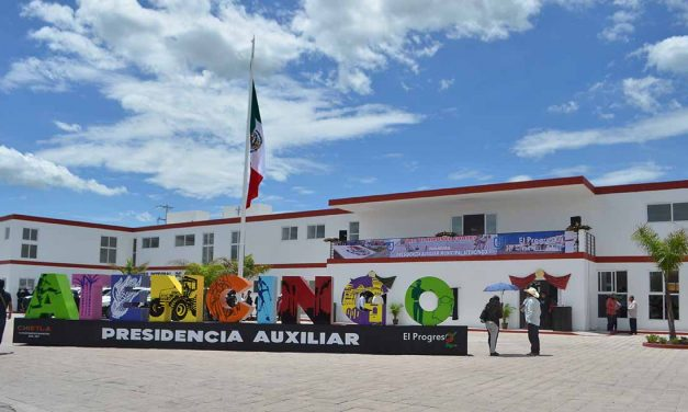 Ayuntamiento de Chietla inaugura presidencia de Atencingo