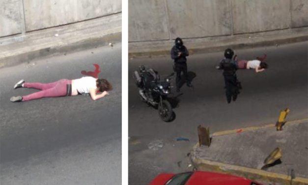 Se suicida, salta de un puente frente a la CAPU