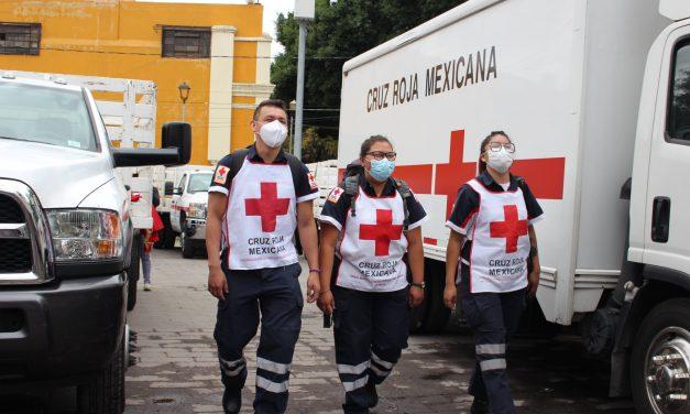 Cambian a delegado de Cruz Roja en Izúcar de Matamoros