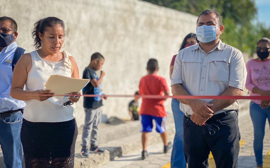 Continúa la remodelación de calles en Tepeojuma
