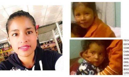 Buscan a hermanitas desaparecidas en el Estado de México