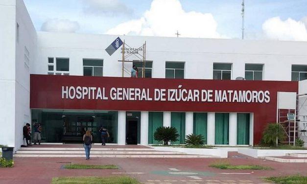 Hospital de Izúcar al 16% de su capacidad para atender Covid