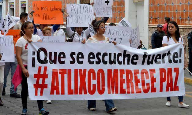 Aumenta la inseguridad en Atlixco y Cuautlancingo
