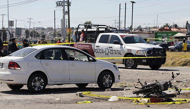 Motocicleta explotó afuera del penal de San Miguel