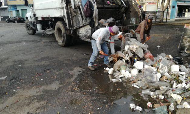 Piden proteger a trabajadores del servicio de limpia en Tepeojuma