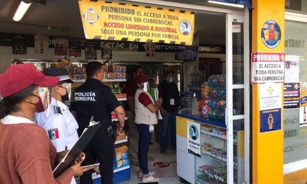 Comerciantes de Izúcar, se suman al Día Solidario con el objetivo de evitar la propagación de Covid-19