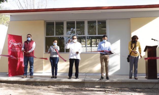 Inauguran, aula didáctica en colonia Cruz Verde.