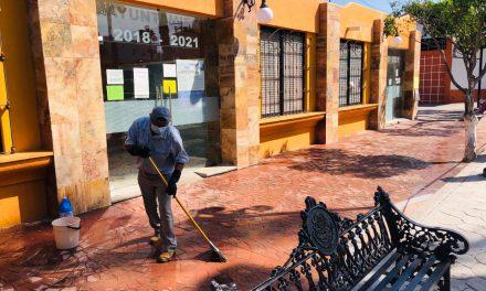 Huehuetlán se suma a la campaña de sanitización