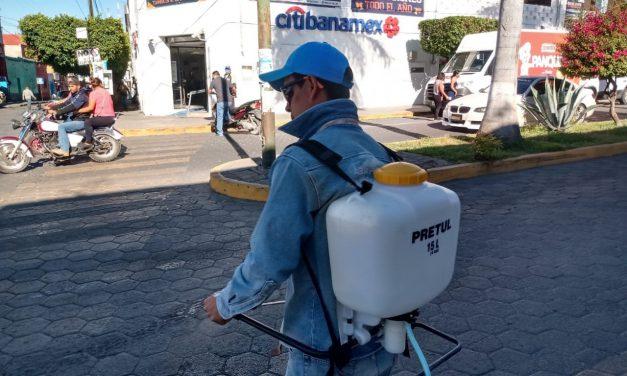 SOSAPAMIM invierte en equipo de sanitización