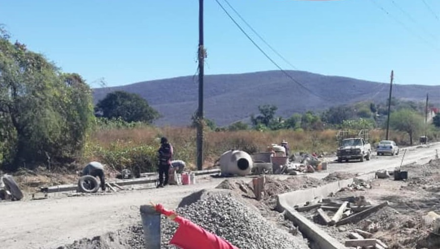 Importante avance de obras en Chietla