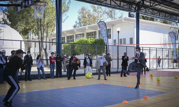 Pese a la pandemia, la BUAP continúa con la mejora de la infraestructura: Alfonso Esparza Ortiz