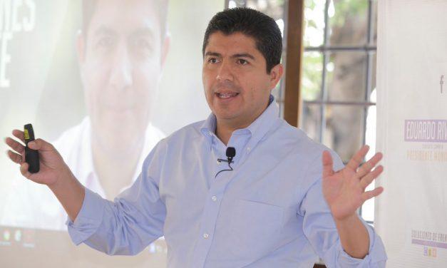 Es casi un hecho la confirmación de Eduardo Rivera para Puebla