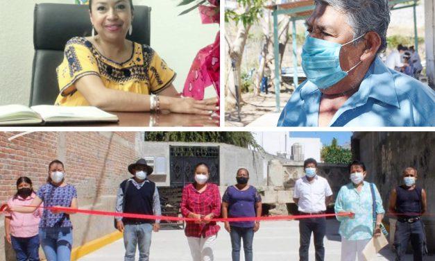 Alcaldesa de Acatlán prefiere pavimentar barrancas que atender problemas de salud