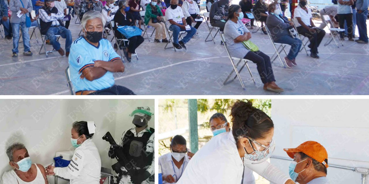 Vacuna da esperanza a abuelitos de la Mixteca