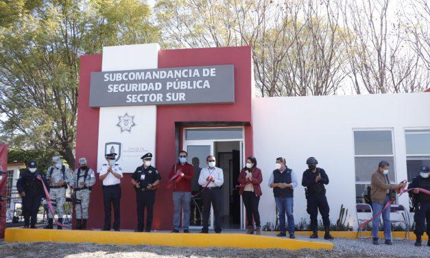 Inaugura Ayuntamiento de Izúcar Sub Comandancia de Seguridad Pública en Rancho Juanitos
