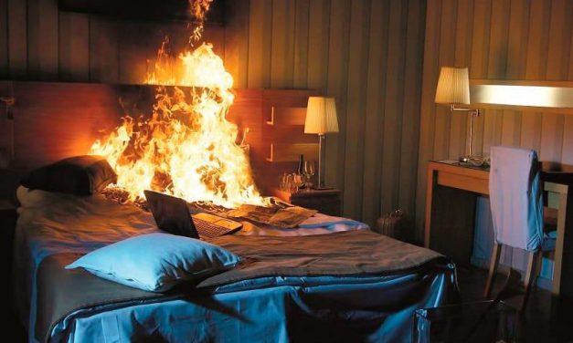 Se incendia hotel en Izúcar; hubo un detenido por este hecho