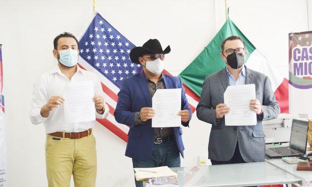Casa del Migrante firma convenio con Pies Secos
