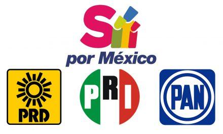 Se divide alianza PRI- PAN-PRD, por candidatura para Puebla capital