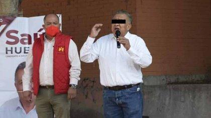 Migrante poblano también fue víctima de Saúl Huerta