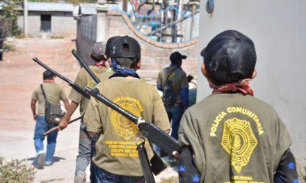 Niños de Guerrero se unen a la Policía Comunitaria