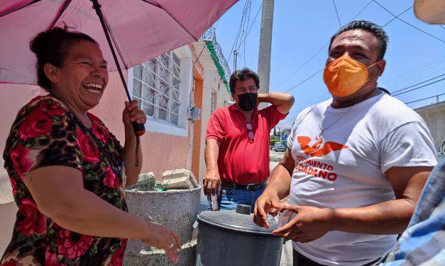 Juan Pablo Huertero más cerca de la gente
