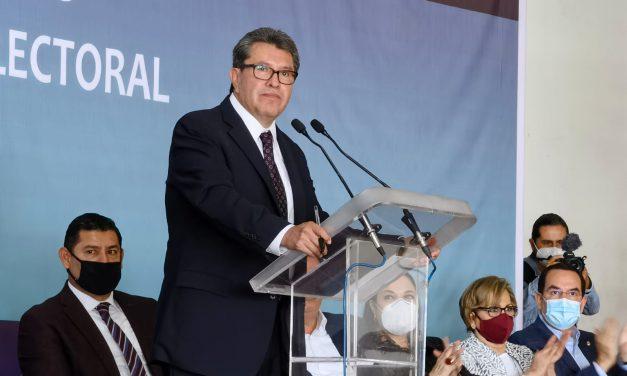 Ricardo Monreal presenta su libro ¨nulidades y procedimientos sancionadores en materia electoral¨