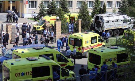 Tiroteo en escuela de Rusia de 8 muertos, 7 eran niños