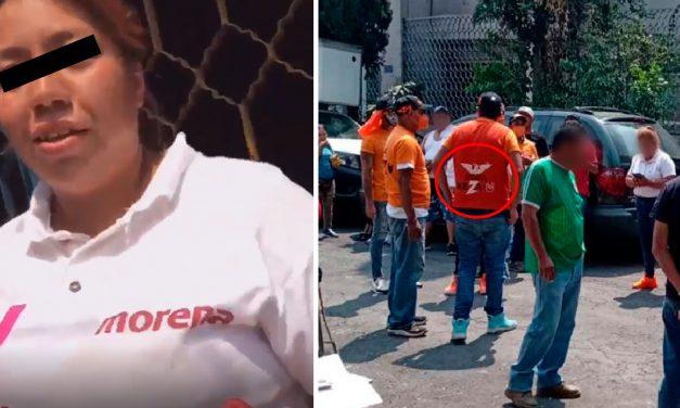 Brigadista pierde a su bebé tras agresión de simpatizantes de Movimiento Ciudadano