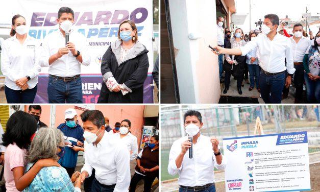 Con 'impulsa Puebla' Eduardo Rivera Pérez reactivará la economía del municipio