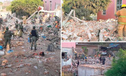 Dos muertos por la explosión de una iglesia en Aguascalientes