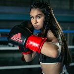 """""""La niña de oro"""" del boxeo, orgullosa de sus raíces poblanas"""