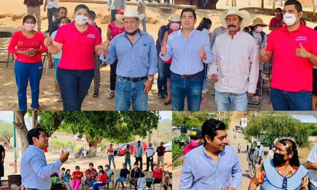 Acceso, abasto y control de agua promete Rubero Suárez a comunidades rurales